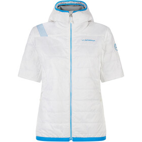 La Sportiva Glow Kurzarm Jacke Damen white